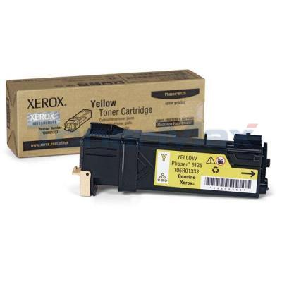 XEROX PHASER 6125 TONER CARTRIDGE YELLOW